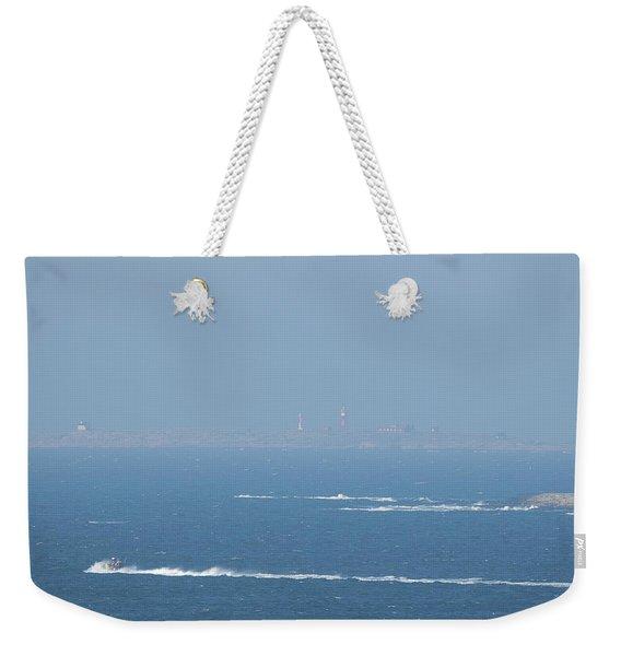 The Coast Guard's Rib Weekender Tote Bag