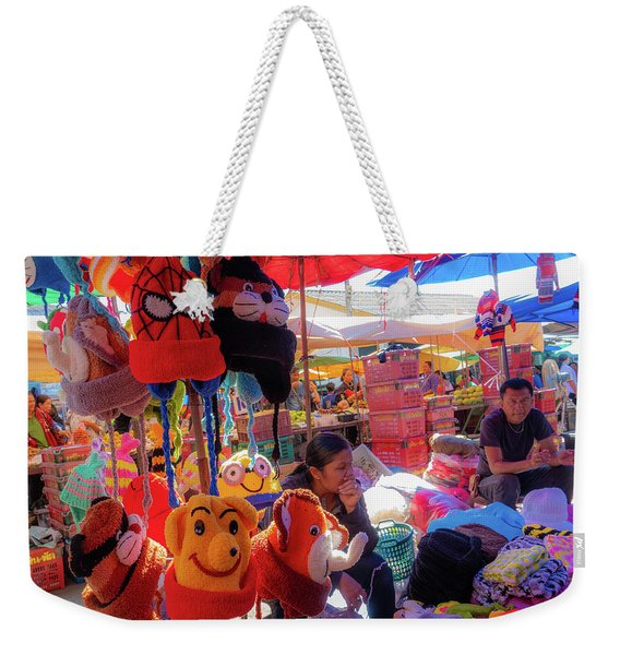 The Colours Of Childhood Weekender Tote Bag