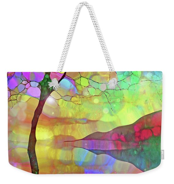 The Colours She Wears On The Inside Weekender Tote Bag