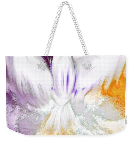 The Comforter Has Come Weekender Tote Bag