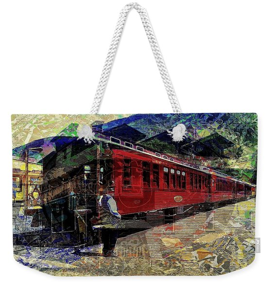 The Conductor Weekender Tote Bag