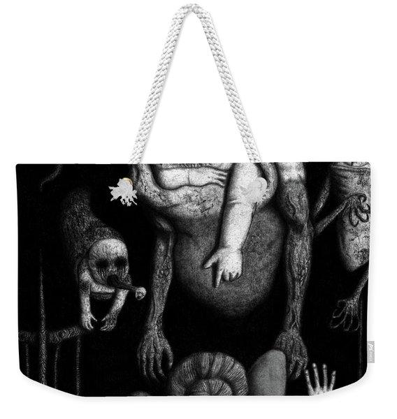 The Corrupted - Artwork Weekender Tote Bag