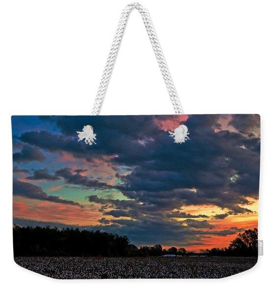 The Cotton Field  Weekender Tote Bag