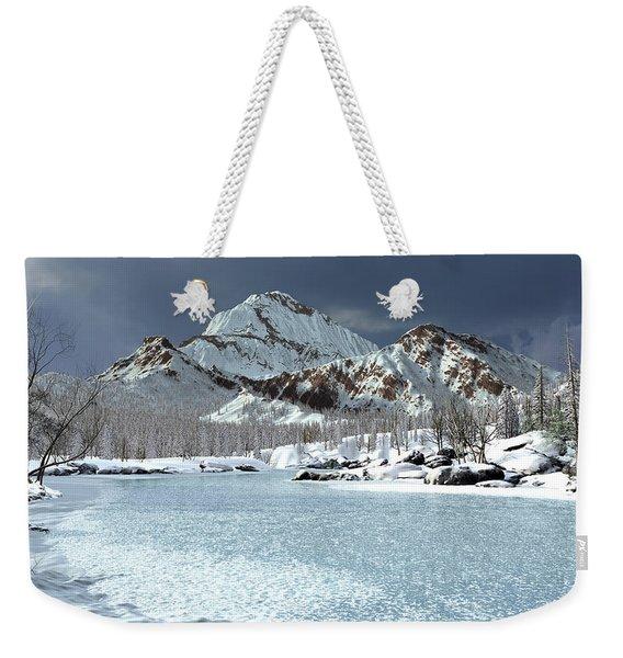 The Courtship Of Ice Weekender Tote Bag