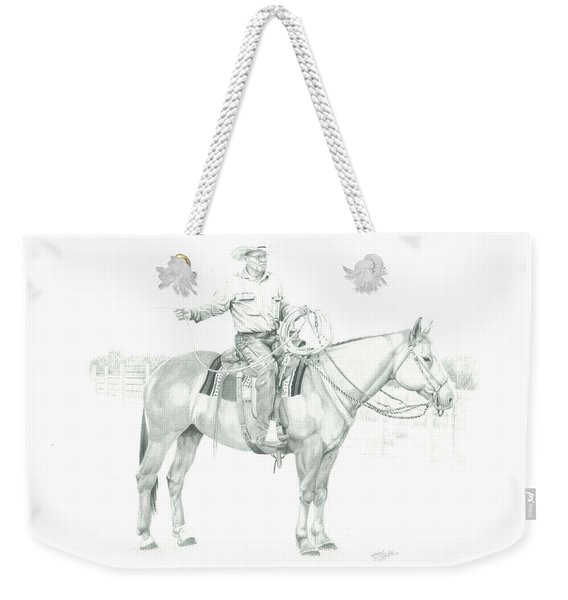 The Cowboy Way Weekender Tote Bag