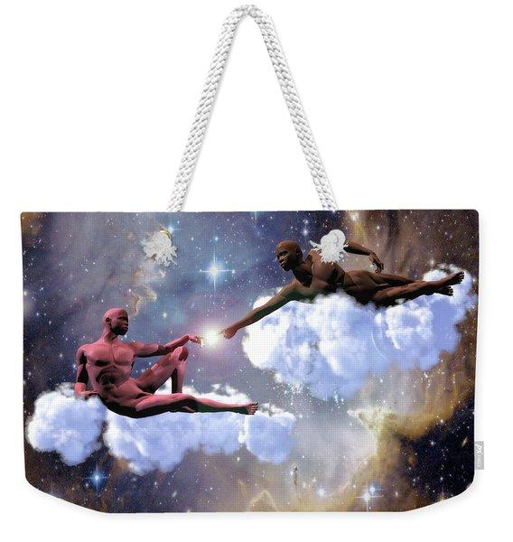 The Creation Weekender Tote Bag