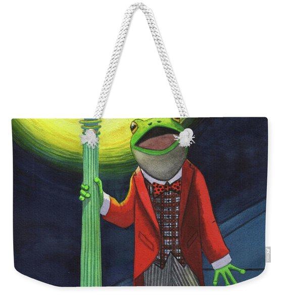 The Croaker Weekender Tote Bag