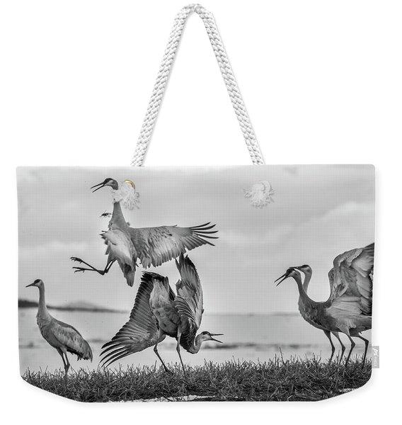 The Dance  Weekender Tote Bag