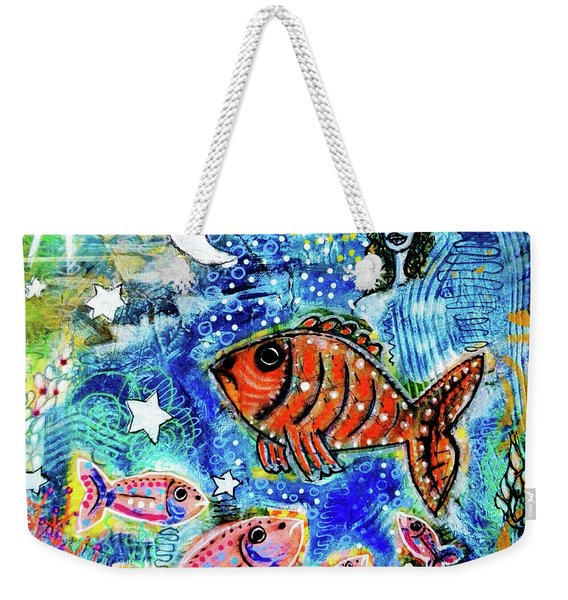 The Day The Stars Fell Into The Ocean Weekender Tote Bag