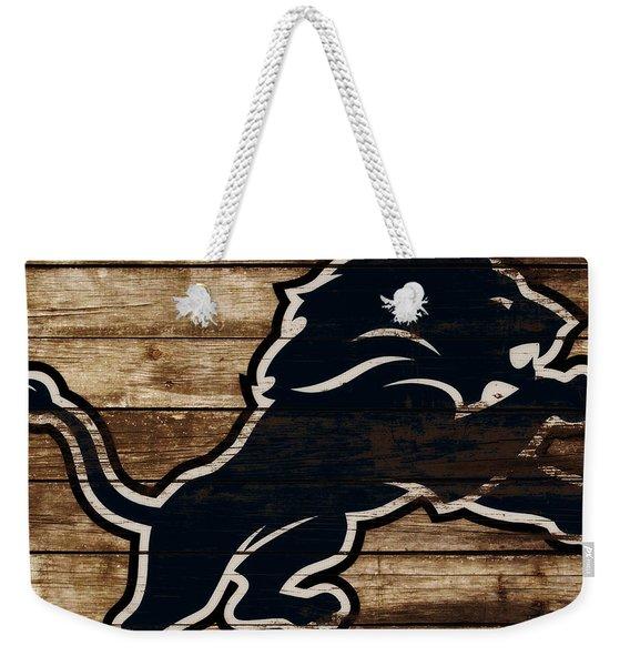The Detroit Lions 3e Weekender Tote Bag