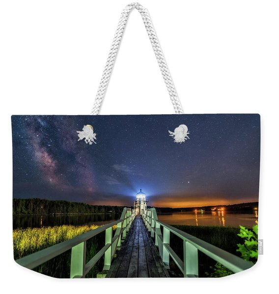 The Doubling Point Lighthouse Weekender Tote Bag
