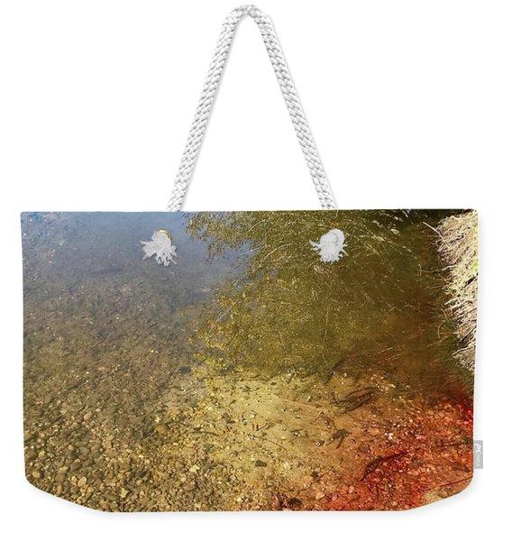 The Earth Is Bleeding Weekender Tote Bag