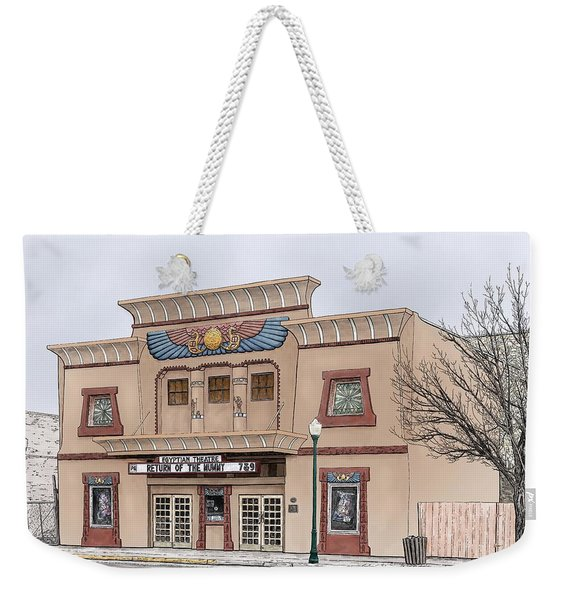 The Egyptian Theatre Weekender Tote Bag