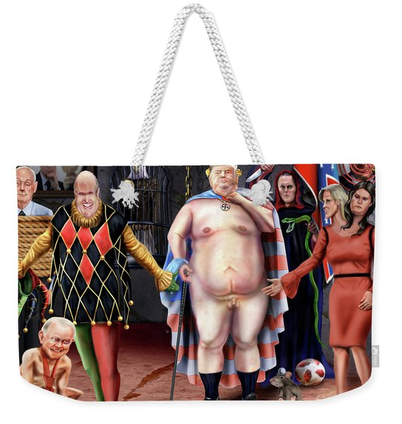 The Emperor And His Crazy House Weekender Tote Bag
