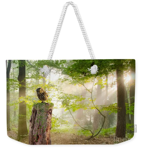 The Enchanted Forrest Weekender Tote Bag