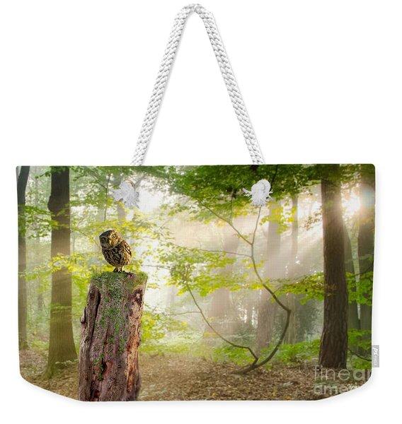 The Enchanted Forrest Weekender Tote Bag