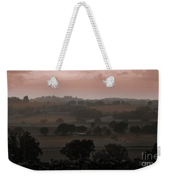 The English Landscape Weekender Tote Bag