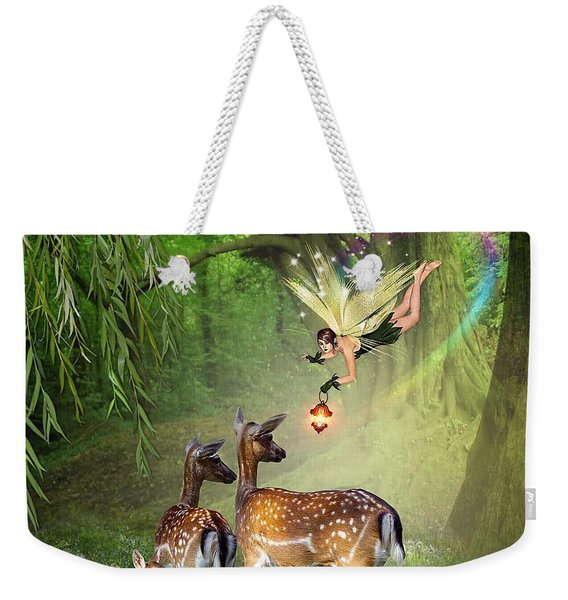 The Fairy Of The Forest Weekender Tote Bag