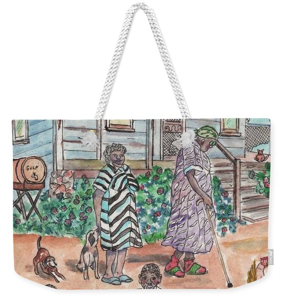 The Family On Magnolia Road Weekender Tote Bag