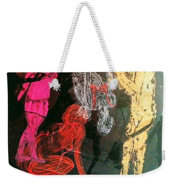 The Fates Are Emerging Weekender Tote Bag