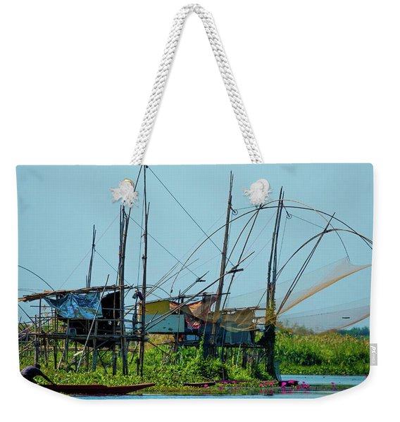 The Fisherman Weekender Tote Bag