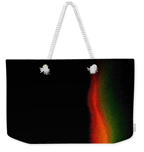 Weekender Tote Bag featuring the digital art The Flamenco by ISAW Company
