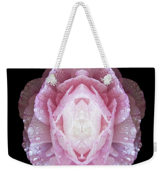 The Flowers Built A Temple Weekender Tote Bag