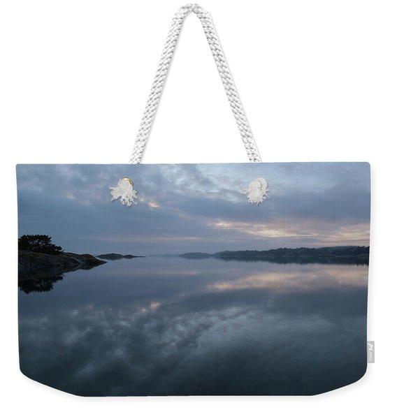 The Fog Lightens Weekender Tote Bag