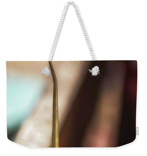 The Galvanized Heart Weekender Tote Bag