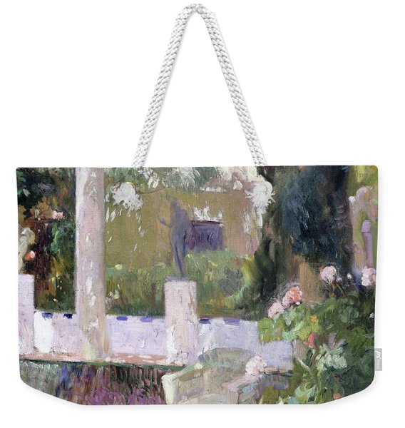 The Gardens At The Sorolla Family House - Digital Remastered Edition Weekender Tote Bag