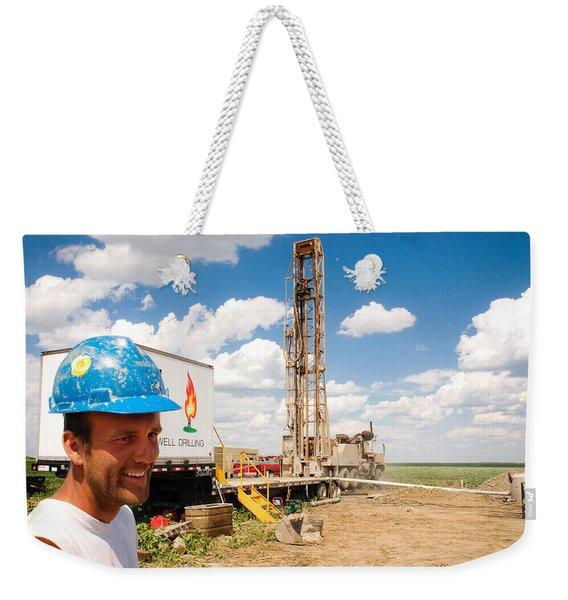 The Gas Man Weekender Tote Bag