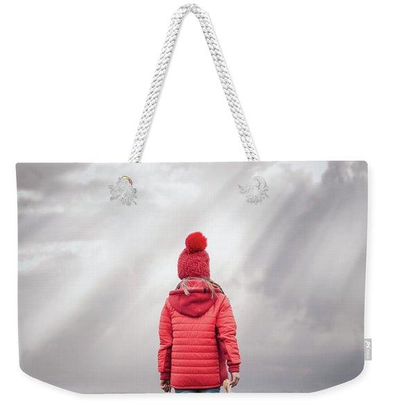 The Gates Of Light Weekender Tote Bag