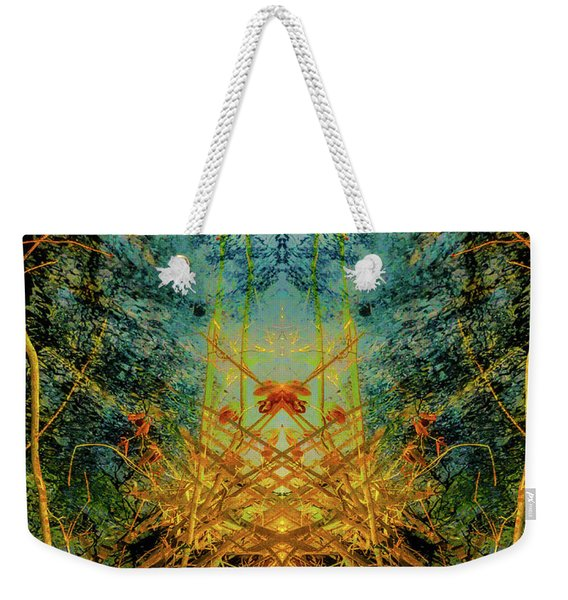 The Gateway To Fall Weekender Tote Bag