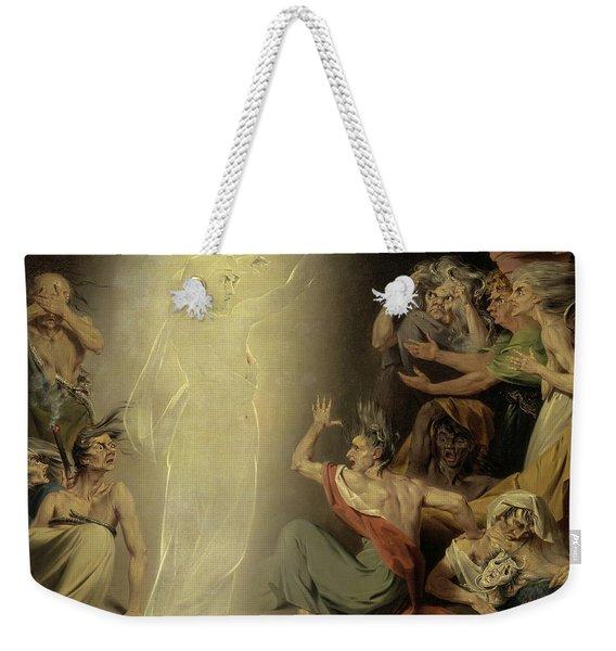 The Ghost Of Clytemnestra Awakening The Furies, 1781 Weekender Tote Bag