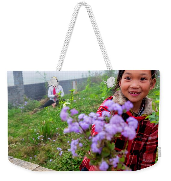 The Gift - Sapa, Vietnam Weekender Tote Bag