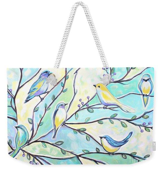 The Glass Birds Weekender Tote Bag