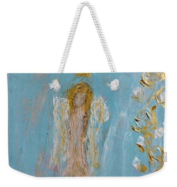 The Golden Child Angel Weekender Tote Bag