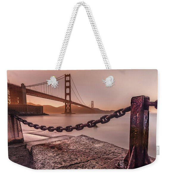 The Golden Gate Weekender Tote Bag