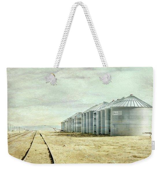 The Grain Bins At Taber Weekender Tote Bag