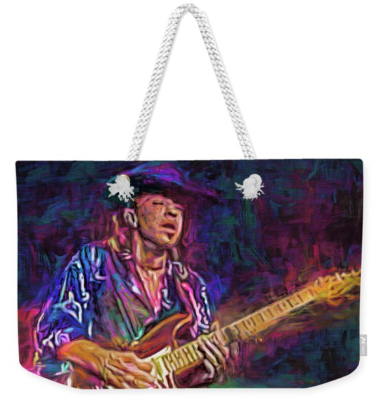 The Great Stevie Ray Vaughan Weekender Tote Bag