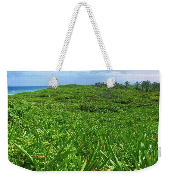 The Green Island Weekender Tote Bag