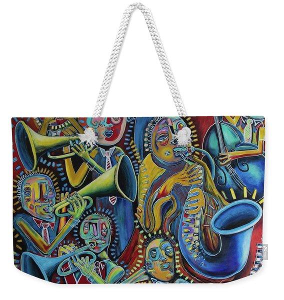 The Groove Weekender Tote Bag
