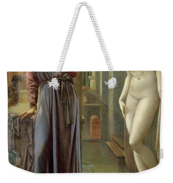 The Hand Refrains Weekender Tote Bag
