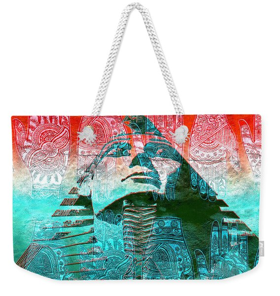 The Hands That Built The Pyramids Weekender Tote Bag
