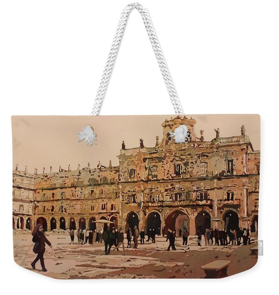 The Heart Of Salamanca Weekender Tote Bag