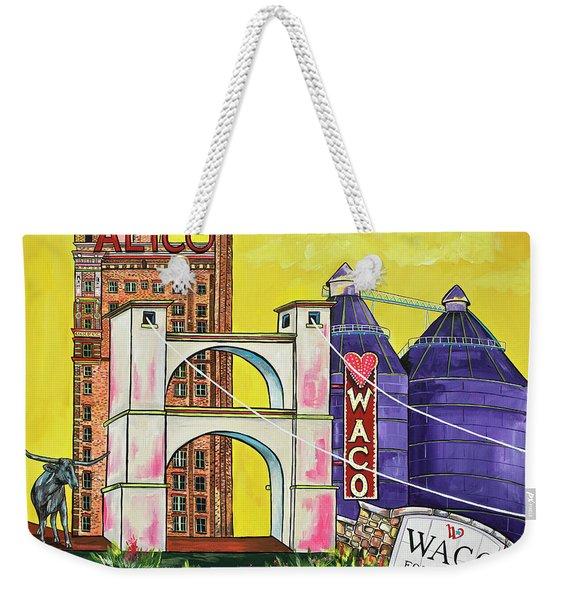 The Heart Of Waco Weekender Tote Bag