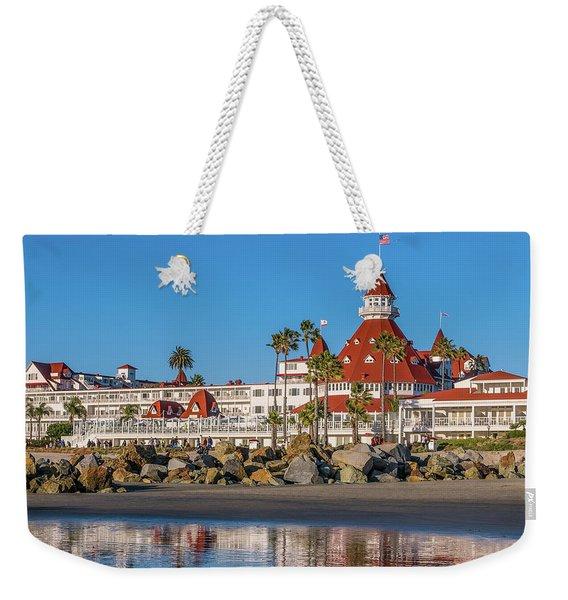 The Hotel Del Coronado San Diego Weekender Tote Bag
