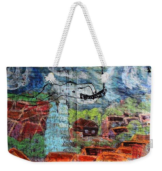 The Hues Brightened Life Seems Good Weekender Tote Bag