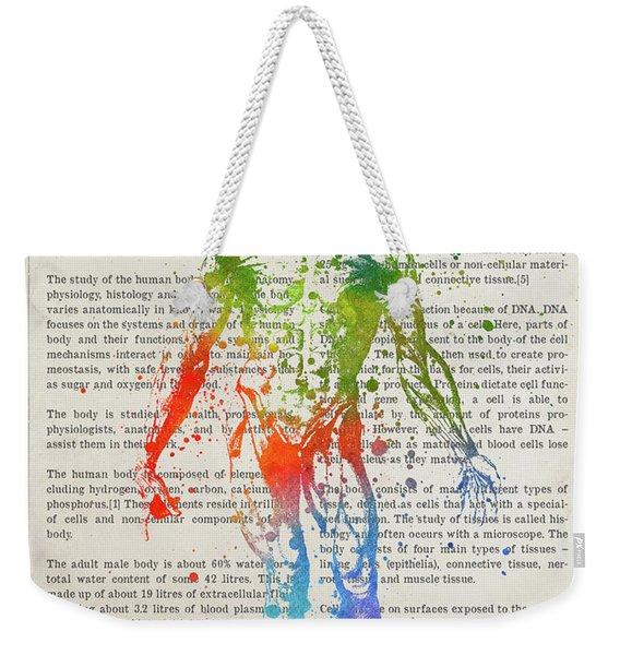 The Human Body Illustation 03 Weekender Tote Bag