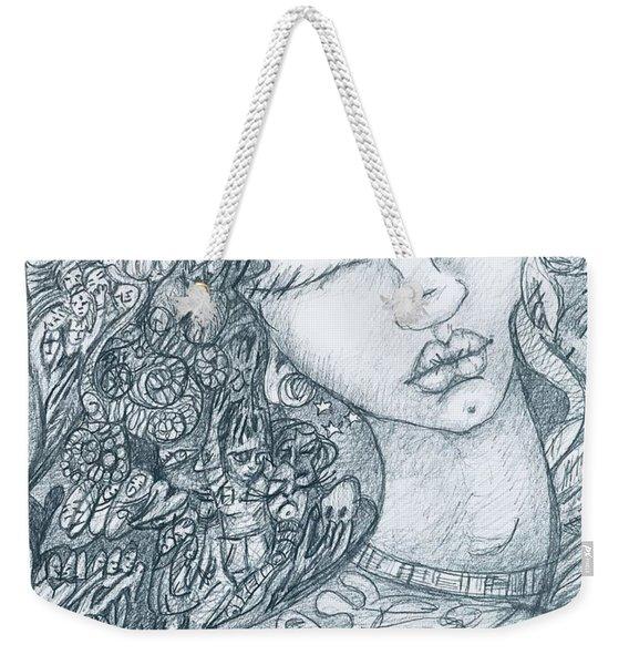The Immigrant Heart Weekender Tote Bag